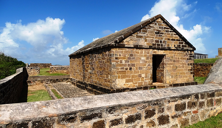 antigua, caribbean island, shirley heights lookout, nelsons dockyard national park, the blockhouse