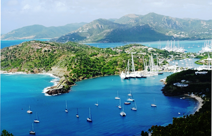 antigua, caribbean island, english harbour, nelsons dockyard national park,