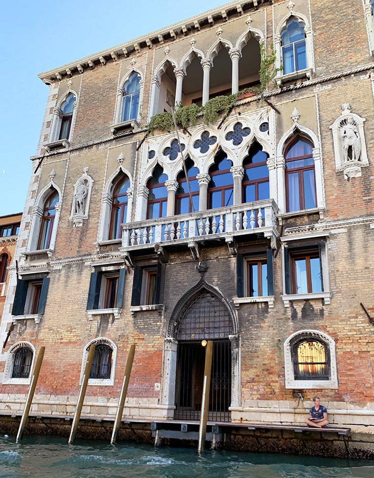 palazzo loredan dellambasciatore, venetian palaces, grand canal, venice italy, loredan family castles, film scenes, the comfort of strangers movie