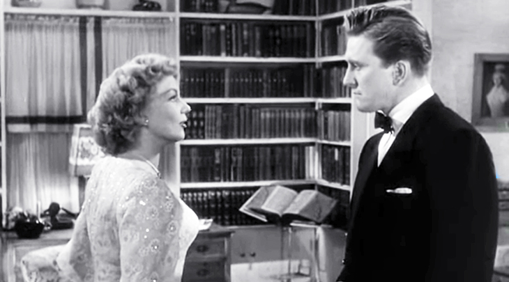 a letter to three wives, 1949 movies, classic films, kirk douglas, ann sothern, american actors