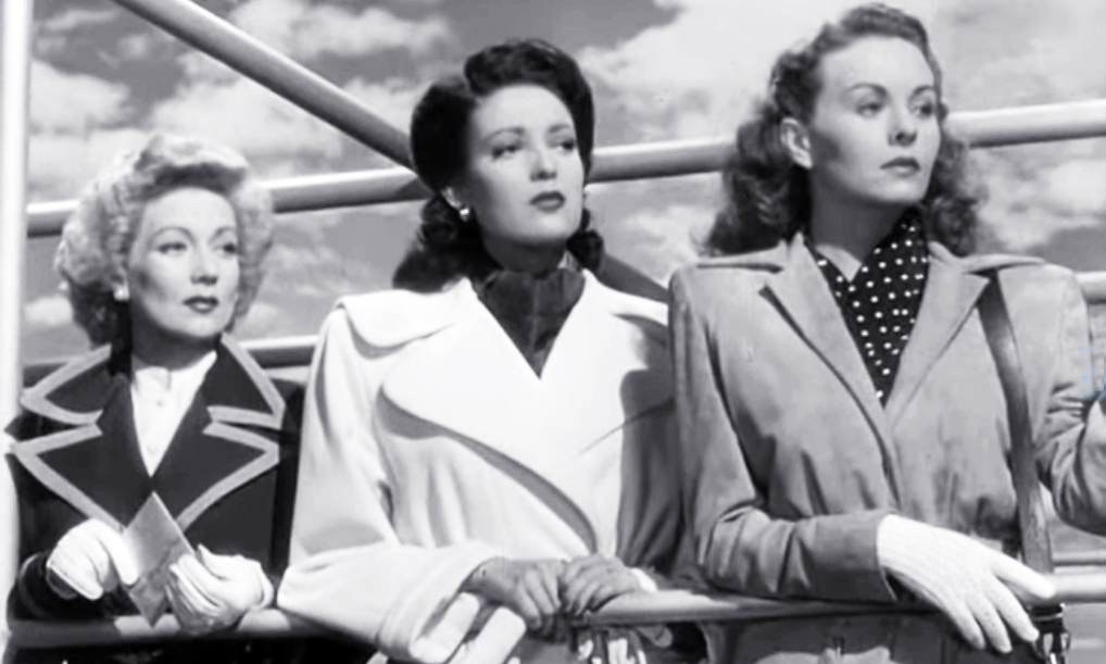 ann sothern, linda darnell, jeanne crain, 1940s films, a letter to three wives, 1949 movies, american actresses, movie stars