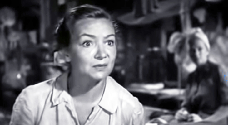 florence desmond, english actresses, british comedienne, 1950s movies, three came home,
