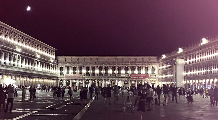 st marks square, procuratie vecchie, nuove, nuovissime, napoleonic wing, venice, italy,