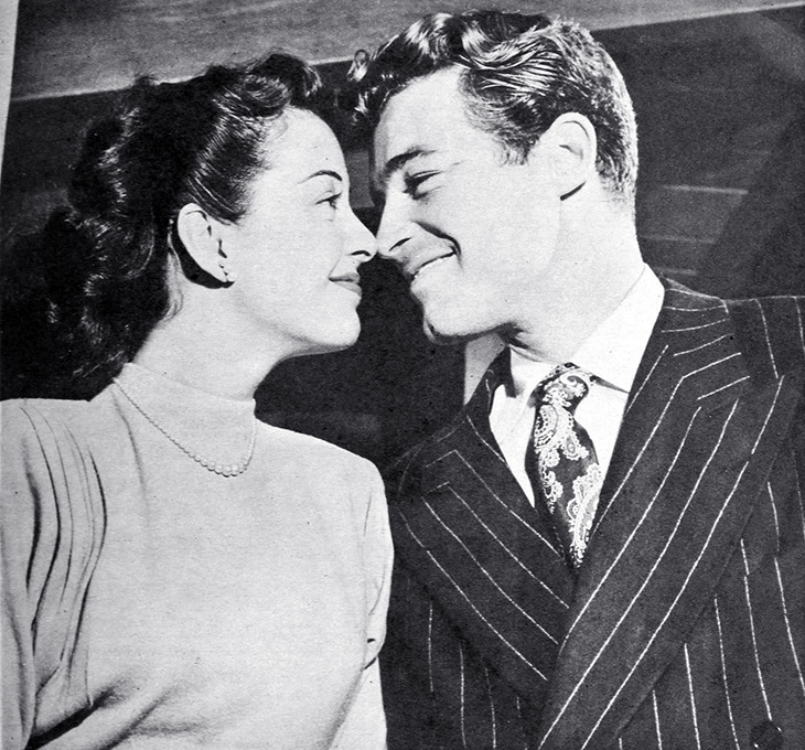 gail russell, guy madison, american actors, classic movies, film stars, angel and the badman,