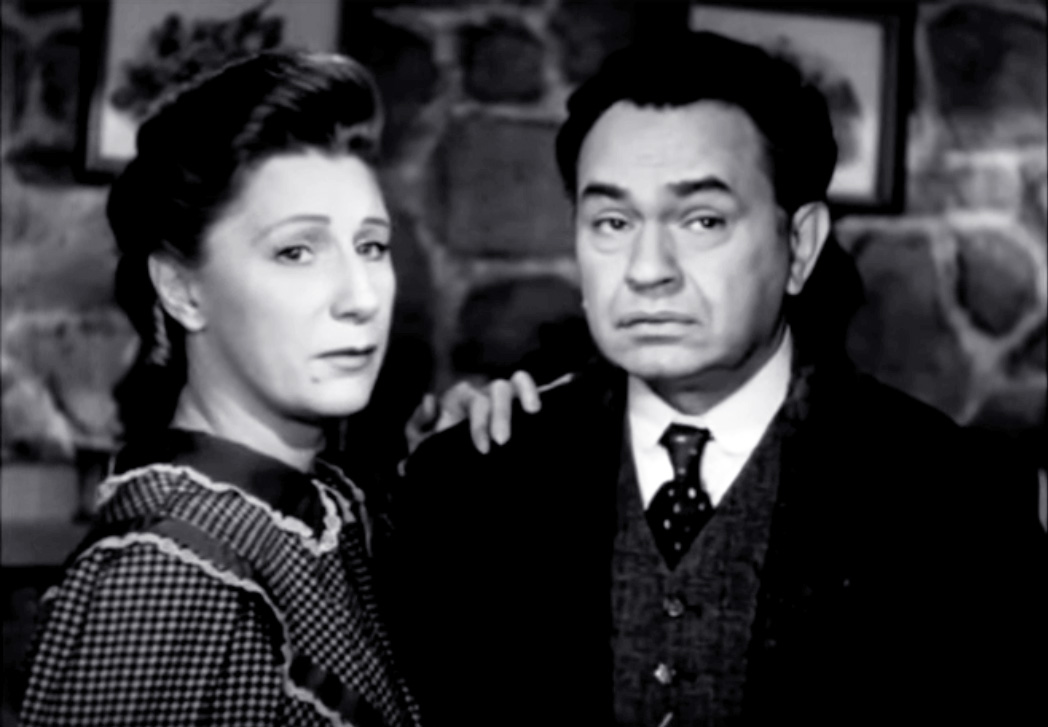 edward g robinson, american actor, dame judith anderson, english actresses, classic movies, 1947 films, the red house, 1940s movies