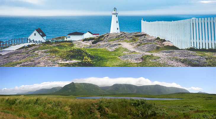 newfoundland and labrador, canadian province, nature scenery, cape spear lighthouse, st johns, table mountain, wreckhouse, atlantic ocean, national parks