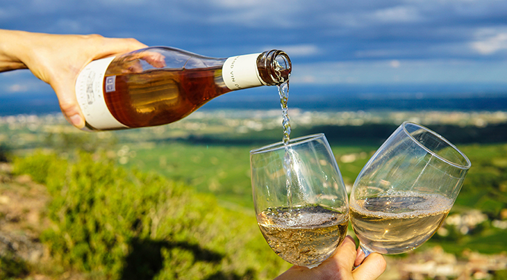 top wine regions, white wine, solutre pouilly, france, wine bottles, glasses of wine, wineries, vineyards, travel, wine tours, wine tasting
