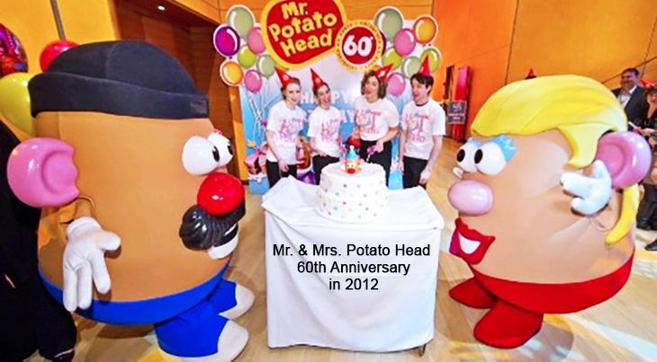 mr potato head, mrs potato head, hasbro, childrens toys, classic toy,