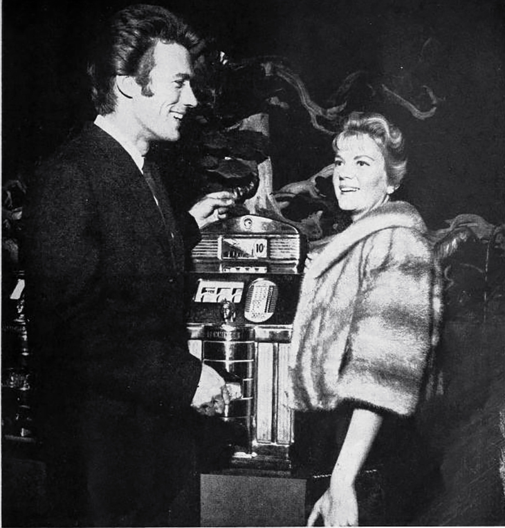 clint eastwood 1960, maggie eastwood, american actor, movie stars, celebrity couples