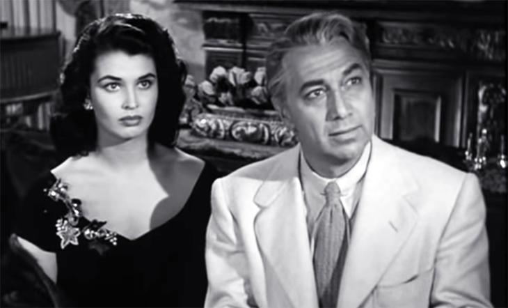 laurette luez, actress, luther adler, american actors, 1950 movies, classic films, film noir, doa