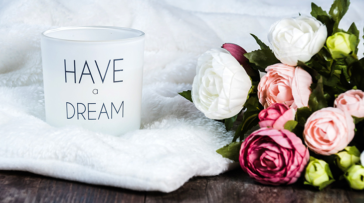 candles, pink flowers, roses, aromatherapy, dream, calming, destress, improve mood