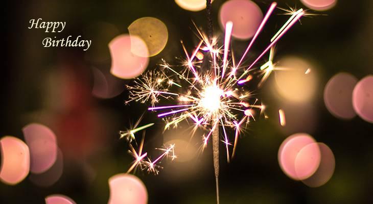 happy birthday wishes, birthday cards, birthday card pictures, famous birthdays, lights, sparkler, celebration