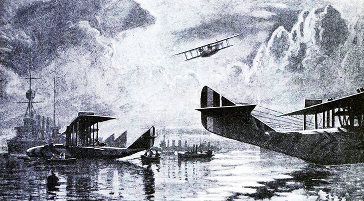 flying boats, seaplanes, world war i, glenn curtiss invention, airplanes, early aircraft, navial aviation, seaplane fleet