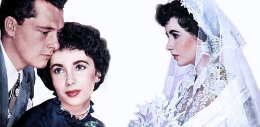 elizabeth taylor, conrad hilton jr, nicky hilton, may 1960 weddings, celebrity wedding, american actress, movie star, hilton hotel heir