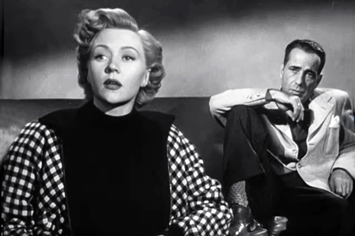 humphrey bogart, gloria grahame, american actors, classic movies, film noir, in a lonely place, 1950 movies