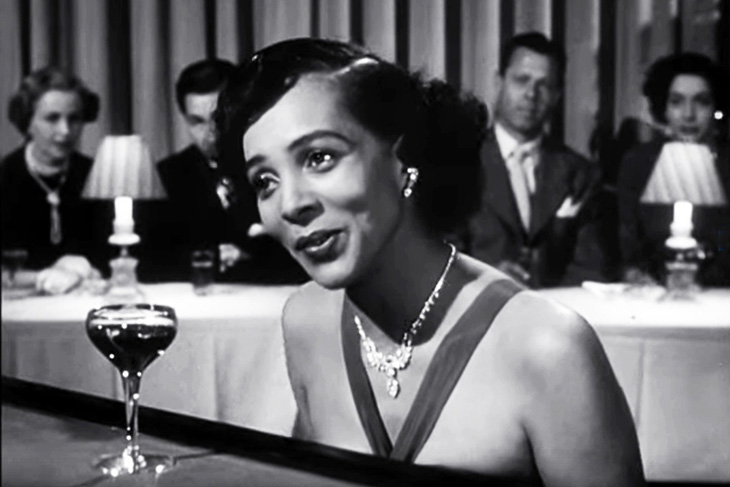hadda brooks, african american singer, black performers, hit songs, out of the blue, i hadnt anyone till you, classic films, film noir, in a lonely place, humphrey bogart movies, gloria grahame films