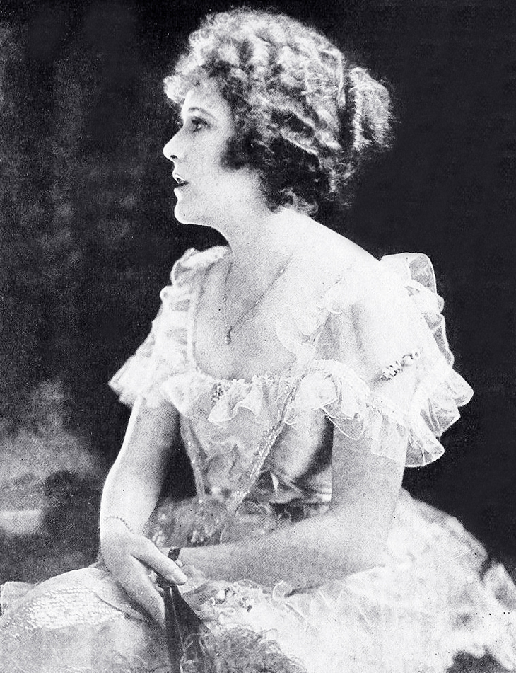 ruth roland, 1919, american actress, silent movie star, shadowland article