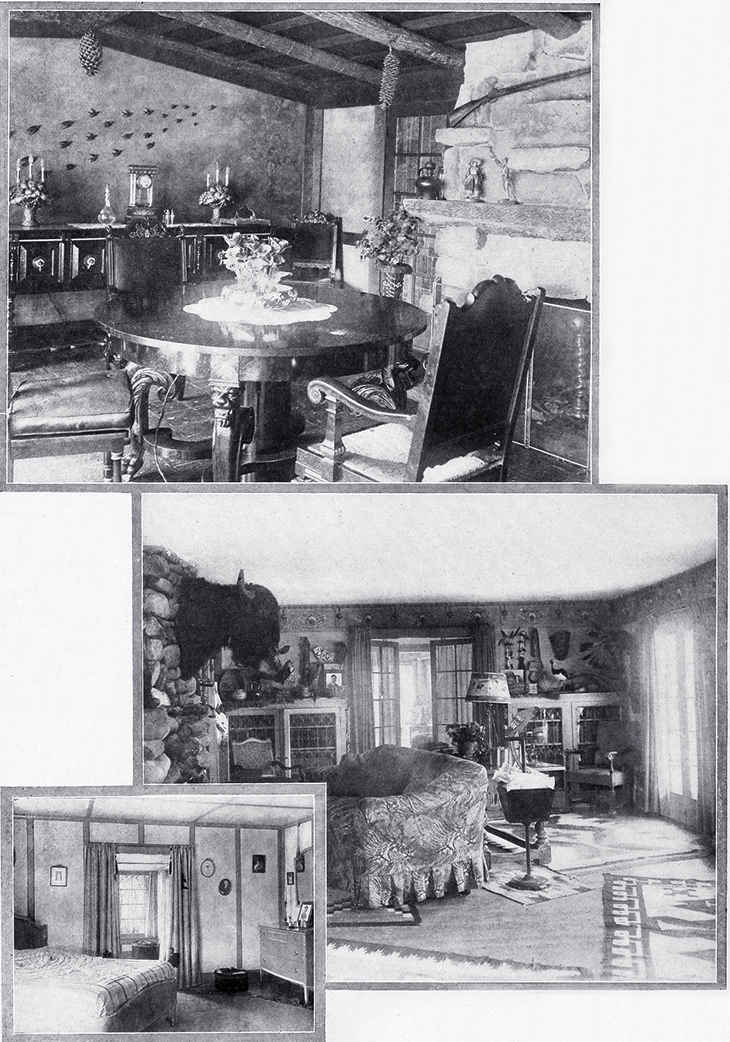 thomas ince, silent movies, film director, interior design, home decorating, 1919, shadowland articles