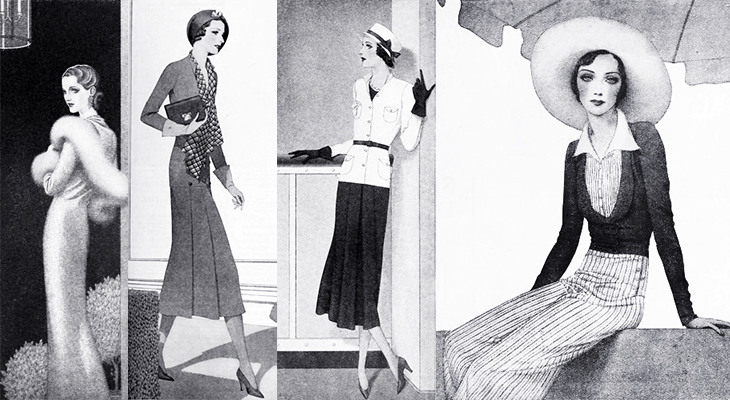 modess, 1931, womens fashion, hats, dresses, advertising, womens products, sanitary napkins, menstruation, feminine hygiene, johnson and johnson