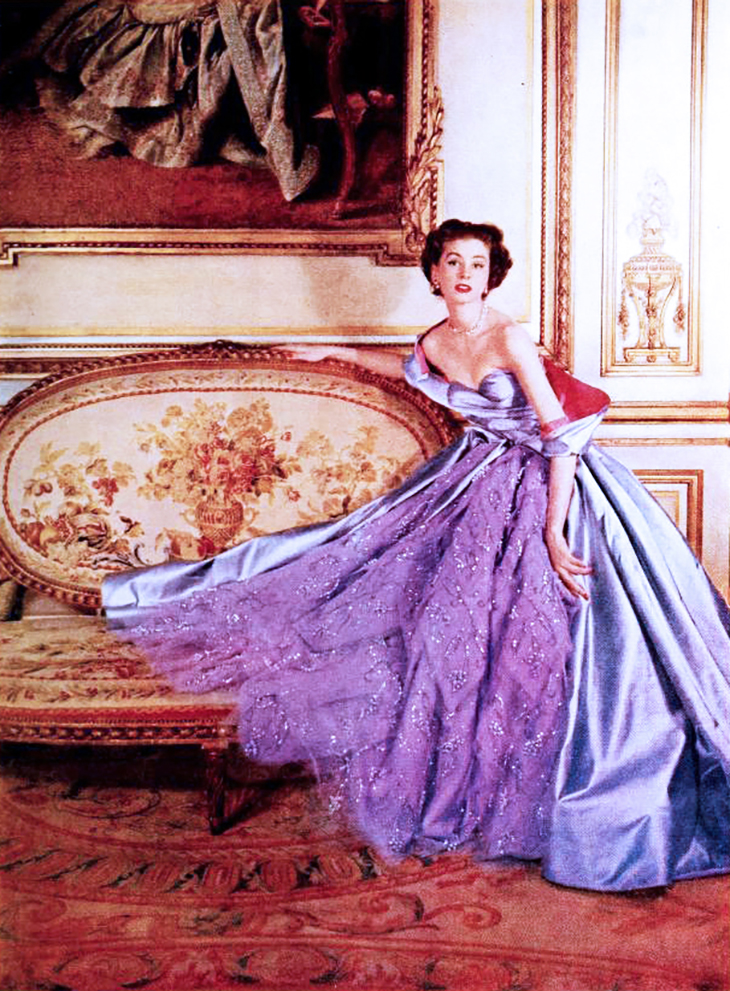 modess because ads, 1949, womens fashion, hats, dresses, advertising, designer gowns, high fashion, christian dior, supermodels, suzy parker, womens products, sanitary napkins, menstruation, feminine hygiene, johnson and johnson,