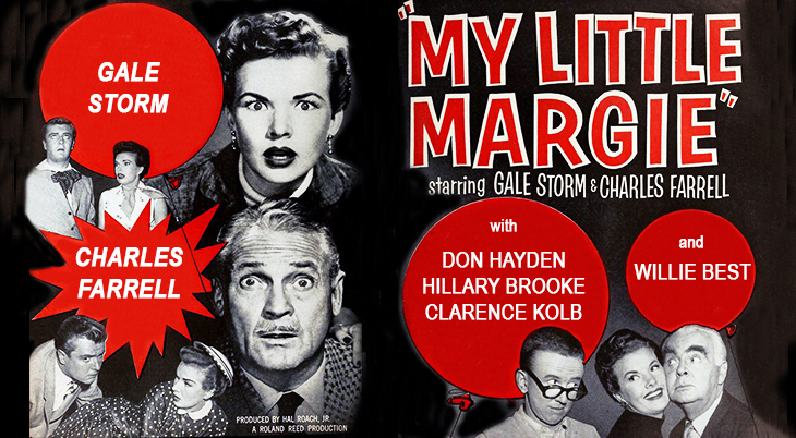gale storm, charles farrell, 1950s tv shows, classic television sitcoms, my little margie, tv shows that began in 1952, american actors, movie stars
