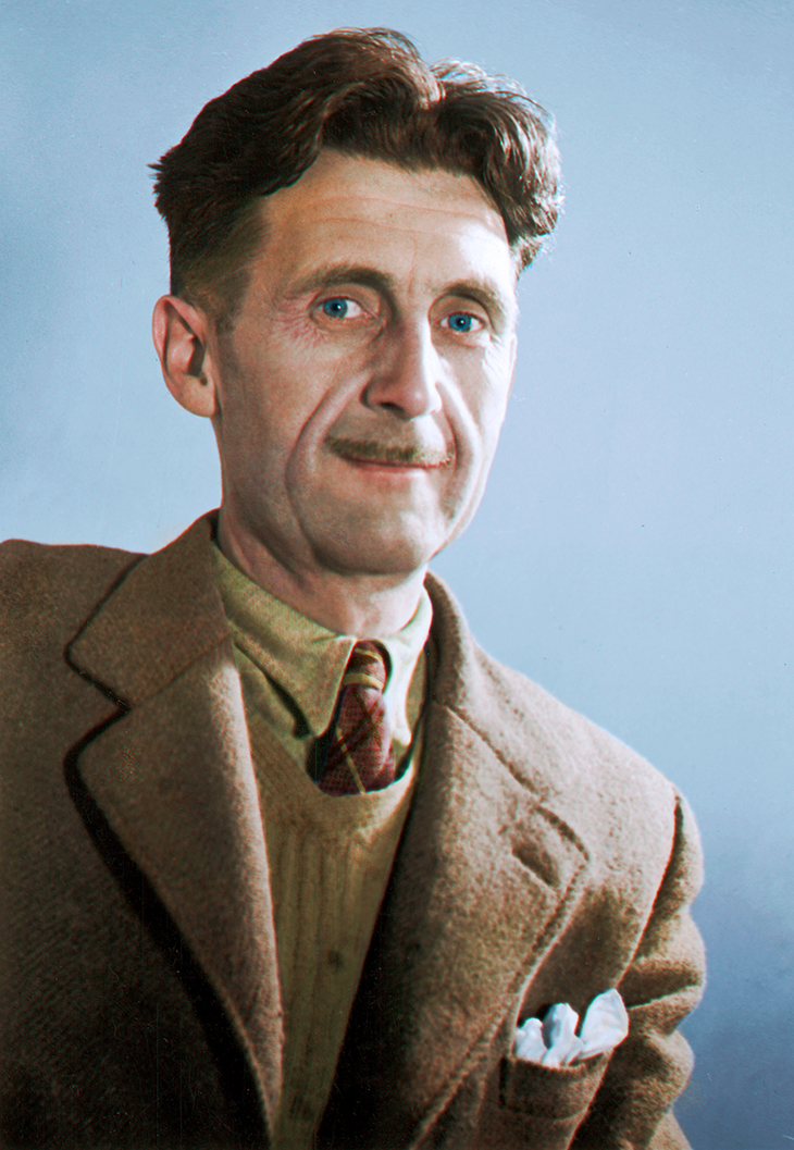 george orwell, english journalist, novelist, author, dystopian books, 1984, nineteen eighty four, animal farm,