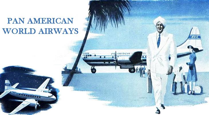 pan american airways, pan american world airways, american passenger airlines, worldwide passenger airlines, 1947 airline flights,