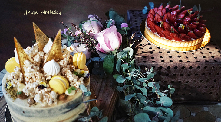happy birthday wishes, birthday cards, birthday card pictures, famous birthdays, cakes, pies, torte, strawberries, lemon macarons, pink roses, flowers