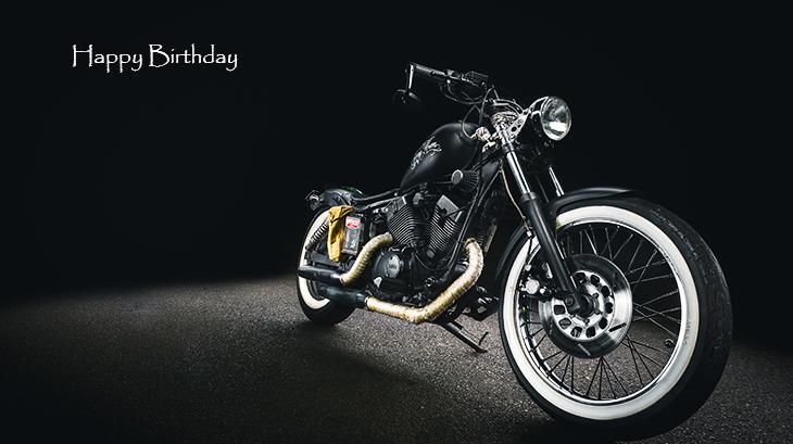 happy birthday wishes, birthday cards, birthday card pictures, famous birthdays, black motorcycle, sport bike,
