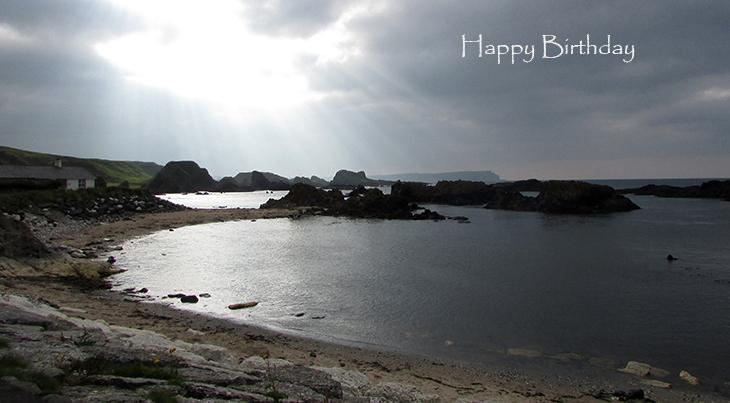 happy birthday wishes, birthday cards, birthday card pictures, famous birthdays, northern ireland, giants causeway, landmarks, scenery
