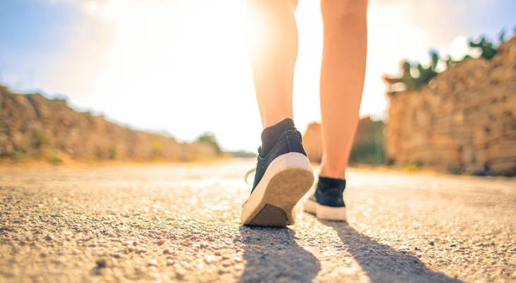 walking, sunshine, healthy, vitamin d, sunlight, daytime, outdoors, running shoes