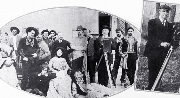 star film ranch, 1910, silent movies, filmmaking, gaston melies company, star film company, san antonio, texas, actor, francis ford, director, actress, edith storey, dolly larkin, william daddy paley,