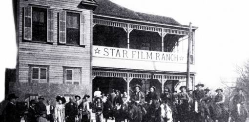 star film ranch, 1910, silent movies, filmmaking, gaston melies company, star film company, san antonio, texas, actors, cowboys, mexican, actresses