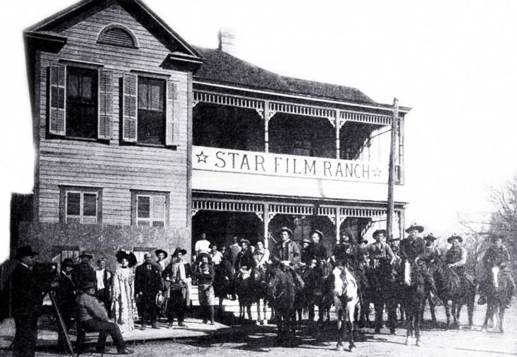 star film ranch, 1910, silent movies, filmmaking, gaston melies company, star film company, san antonio, texas, actors, cowboys, mexican, actresses