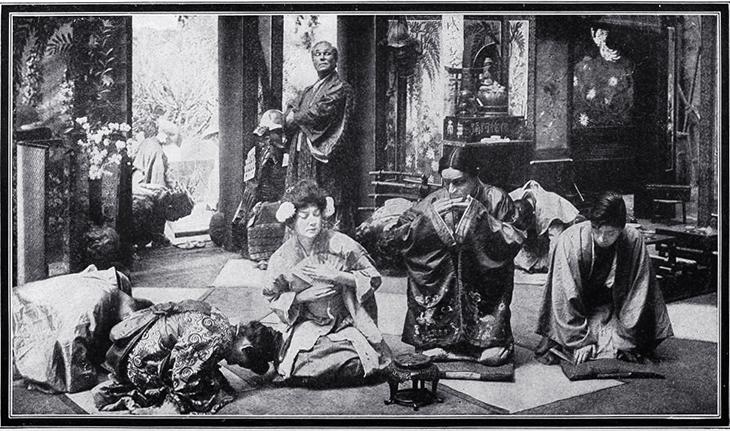 1910, silent film, movie, the love of chrysanthemum, filmmakers, movie studios, vitagraph company of america, american actress, norma talmadge, film star