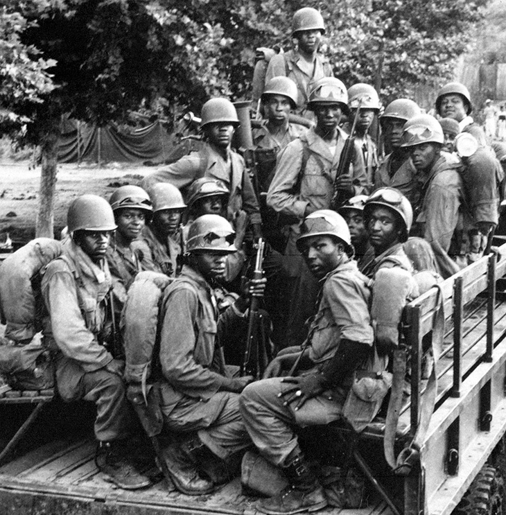 1950, july, 24th infantry regiment, korean war, us army signal corps, black soldiers, african americans, troops, united states army, asian conflicts,