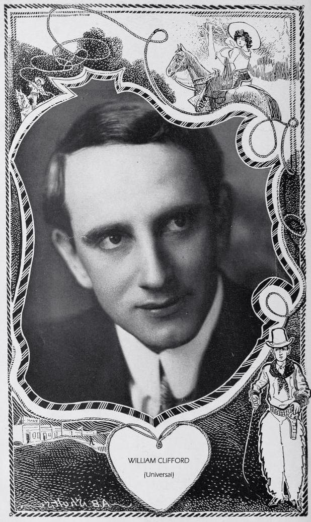 william clifford, silent film star, star film ranch, 1913, silent movies, gaston melies company, star film company, universal film studio, american actor, screenwriter, the chinatown mystery,
