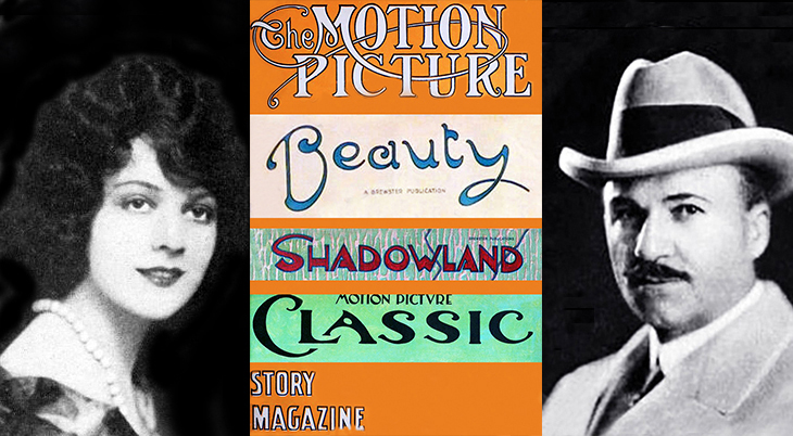 eugene v brewster, 1924, american publisher, m p publishing, brewster publications, the motion picture story magazine, motion picture classic, shadowland, beauty magazine, corliss palmer, 1922, actress, fame and fortune contest winner