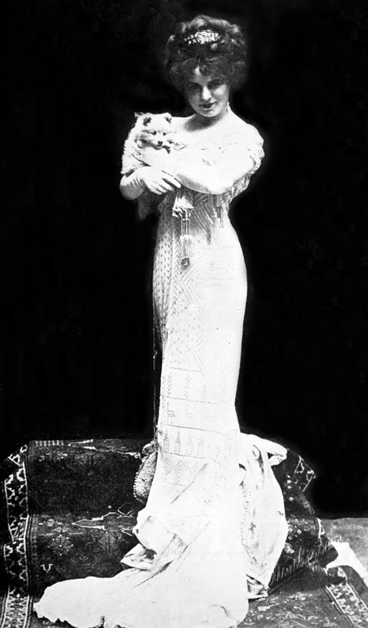 thais magrane prescott, american actress, singer, fashion, designer, dresses, gowns, vintage, 1909, belasco company, los angeles, plays,