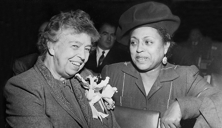 1950, edith sampson, united nations, eleanor roosevelt, first african american un delegate
