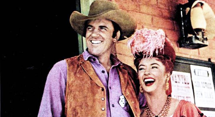 gunsmoke, classic television, tv shows, westerns, american actors, james arness, marshall matt dillon, amanda blake, miss kitty,