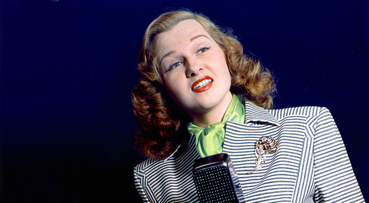 jo stafford, american singer, pop songs, 1940s vocalist, the pied pipers, hit songs, you belong to me, make love to me, temptation tim tayshun, jambalaya, married paul weston, grammy hall of fame