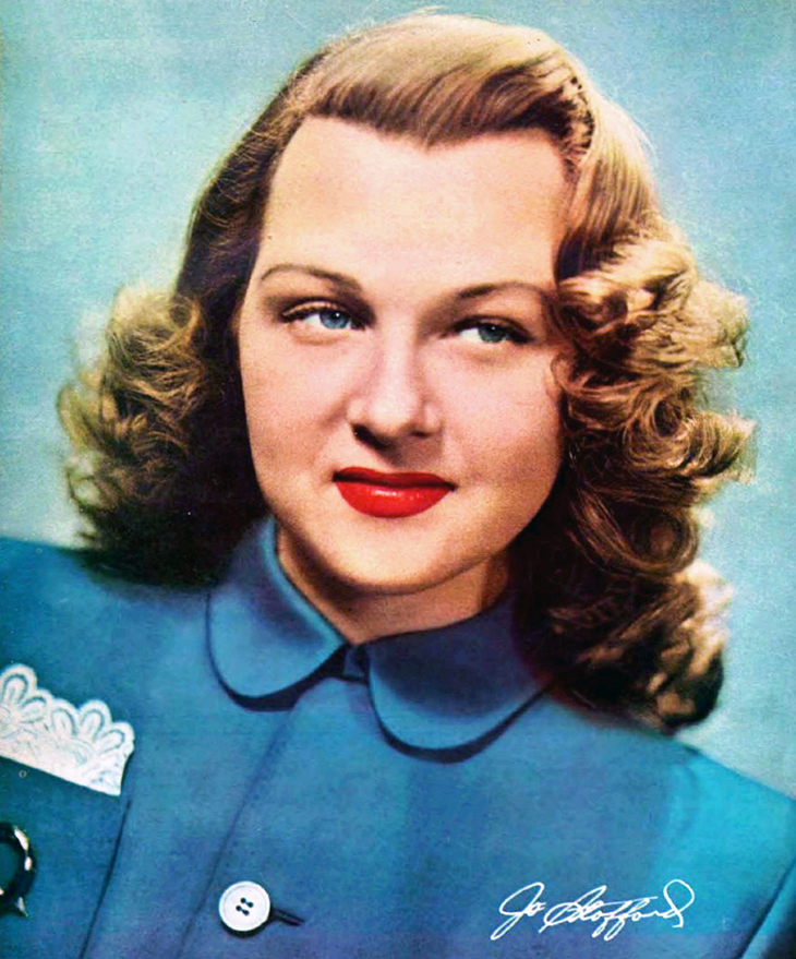 jo stafford, 1948, 1940s radio stars, voice of america, american singer, pop songs, 1940s vocalist, hit songs, candy, temptation tim tayshun, some enchanted evening