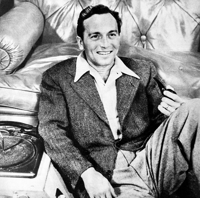 johnnie johnston, 1947, movie star, american actor, singer, nbc radio host, 1940s hit songs, laura, movies, unchained, rock around the clock, sweater girl,