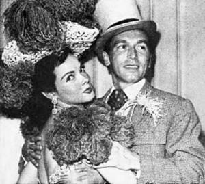 johnnie johnston, kathryn grayson, 1947, movie stars, american actor, actress, singers,