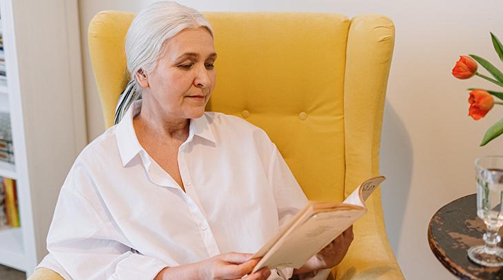 senior, older woman, independent living, retirement life,