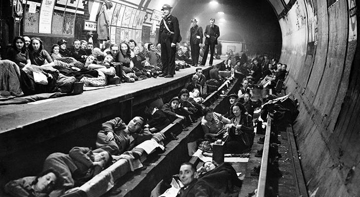 1940, september, world war ii, wwii, the blitz, luftwaffe bombs, london, england, battle of britain, aldwych tube, london underground, train stations, bomb shelters, british people,