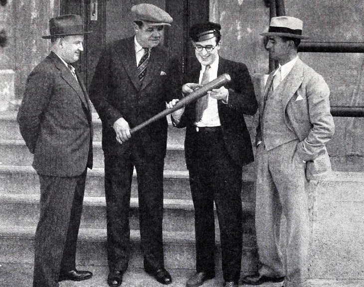 babe ruth, 1920, harold lloyd, john l murphy, ted wilde, american baseball players, new york yankees, silent movies, film stars, harold lloyd, director, ted wilde