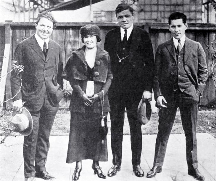 babe ruth, baseball player, mlb, new york yankees, actor, william farnum, silent movies, film star, william fox studios, sol m wurtzel, 1920