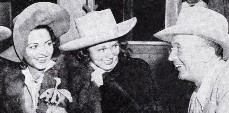 doris davenport, walter brennan, lilian bond, 1940, american actors, movie stars, 1940s films, the westerner, western movies,